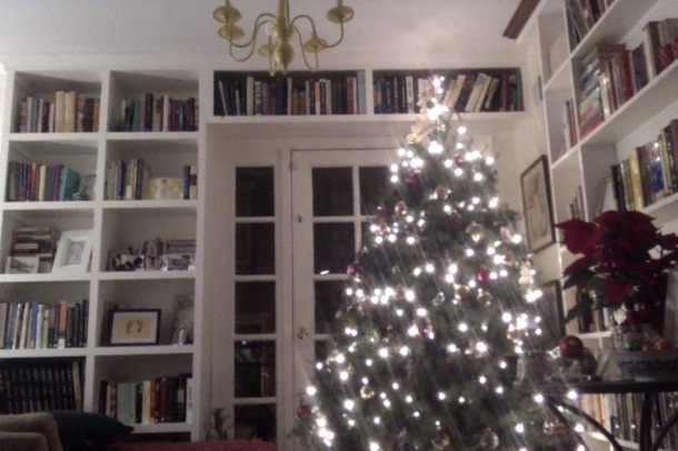(Not too shabby a Christmas tree for a little Jewess, eh?)